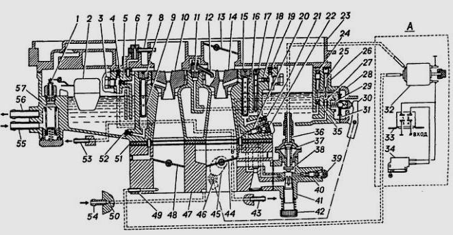 Карбюратор К-151Д дв. ЗМЗ 406
